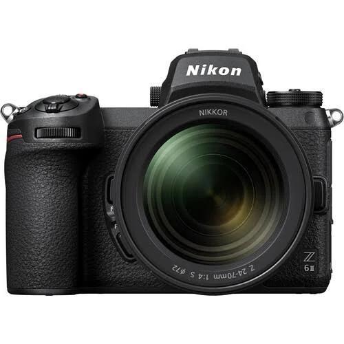 Nikon Z6 II Mirrorless Digital Camera with Z 24-70mm S Lens...