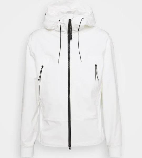 C.P. Company Outerwear Short Jacket Tunn jacka gauze white, gender.adult.male, Storlek: 52, Vit