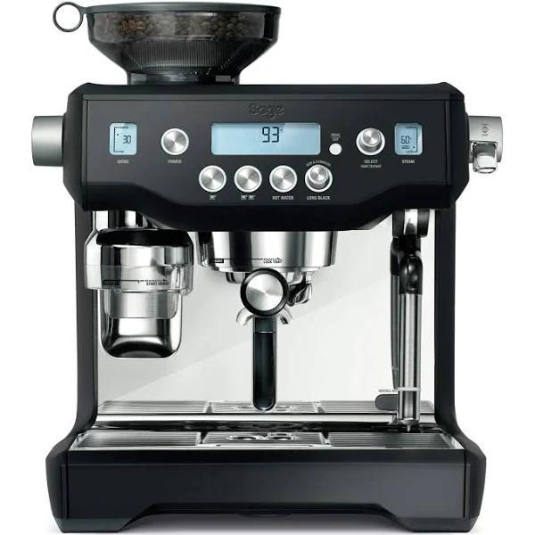 Sage Espresso Maschine Oracle matt schwarz Hardware/Electronic