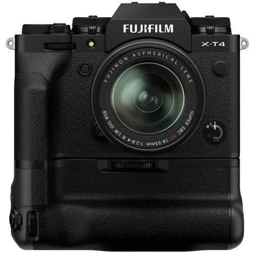 Fujifilm X-T4 Zwart + XF 18-55mm + VG-XT4