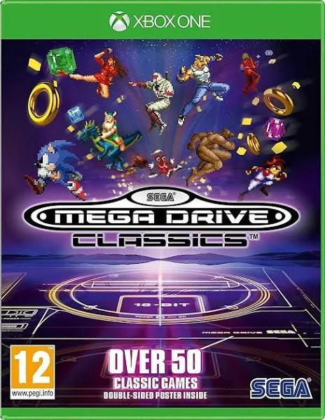 Sega Mega Drive Classics Xbox One-spel