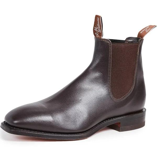 R.M. Williams Classic RM Leather Chelsea Boots Chestnut 11.5