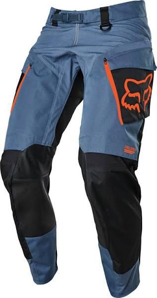 Fox Legion Motocross Byxor, blå, 28