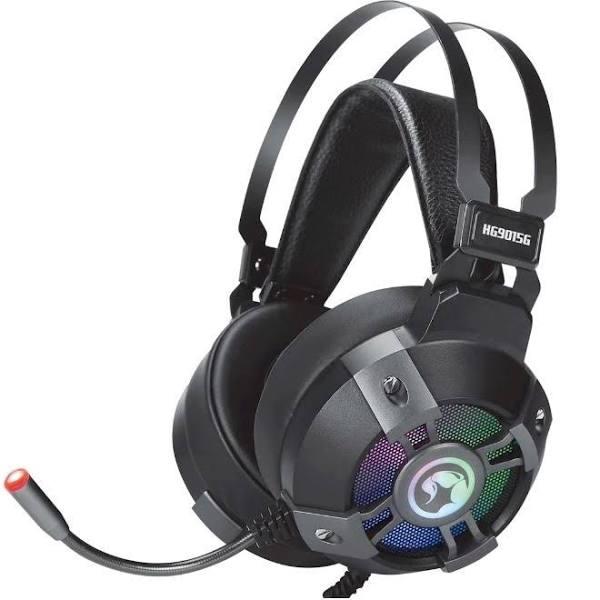 Marvo HG9015G Gamingheadset med bra mikrofon och ljudkontroll