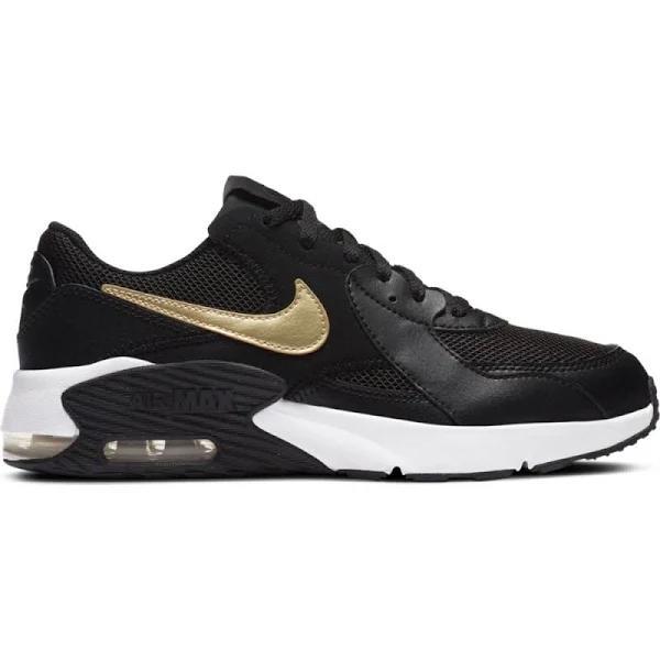 Nike Air Max Excee EU 39 Black / Mtlc Gold Star / White