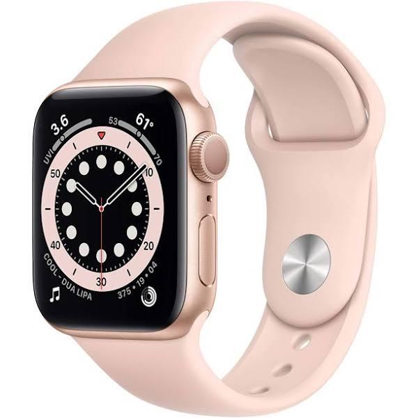 Apple Watch Series 6 (GPS) 40 mm Guld/Rosa