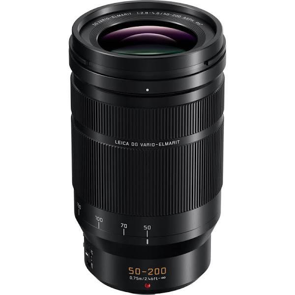 Panasonic Leica DG Vario-Elmarit 50-200mm f/2.8-4 ASPH. POWER O.I.S. Lens, Mount Micro Four Thirds Zoom es, Only, Telephoto, Focus Autofocus,