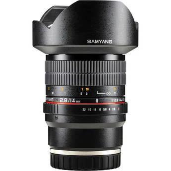 Samyang 14mm f/2.8 ED AS IF UMC Lens for Sony E Mount, E mount, Full Frame es, Prime, Only, Wide, Focus Manual, f/2.8 or