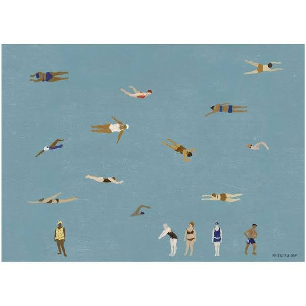 Fine Little Day Swimmers poster 50x70 cm
