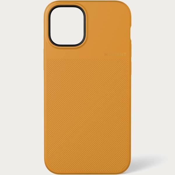 Moment iPhone 12 Pro Max Thin Case - Mustard Yellow