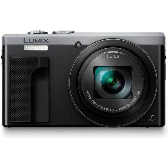 Panasonic DMC-TZ80EF-K - Kompakt digital resekamera - 30x zoom - 4K-teknik - Silver