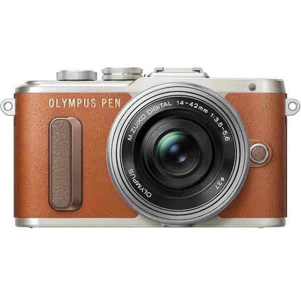 OLYMPUS E-PL8 BROWN 14-42MM