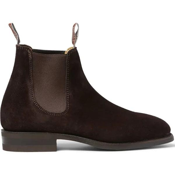 R.M. Williams Comfort Craftsman Boots - Suede leather, comfort rubber sole - G (Regular) Fit