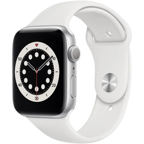APPLE WATCH SERIES 6 40 MM SILVER ALUMINIUM VIT SPORTBAND