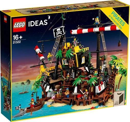 LEGO 21322 Pirates of Barracuda Bay - LEGO Ideas