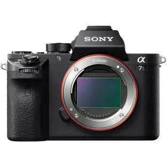 Sony Alpha a7S II Mirrorless Digital Camera Body Only, Full Frame 35mm, 12 Megapixels, 4K, Color Hot Shoe Mic