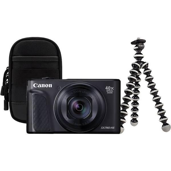 Canon Powershot SX740 HS resekit zwart