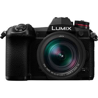Panasonic Lumix DC-G9 Mirrorless Micro Four Thirds Digital Camera with 12-60mm Lens, Kits, 20 Megapixels, 4K, Color Hot