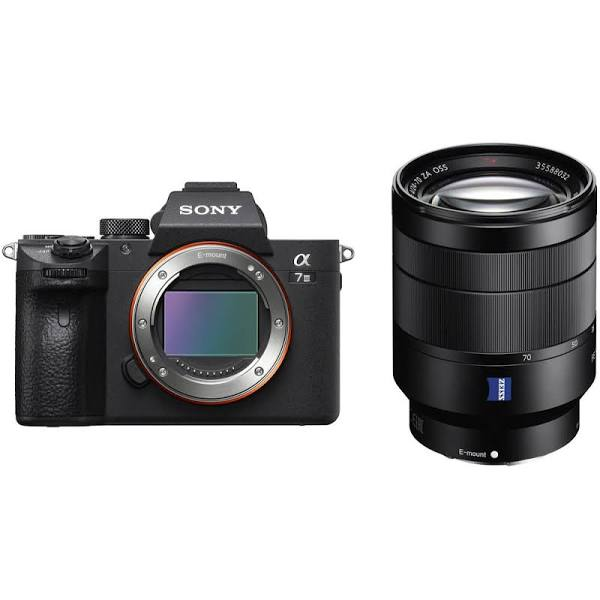 Sony Alpha A7III Mirrorless Digital Cameras with FE 24-70mm F4 ZA...