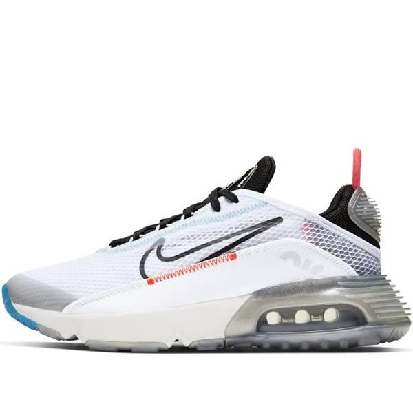 Nike Air Max 2090 GS Pure Platinum Marathon Running Shoes/Sneakers CJ4066-100 (Size: EU 38)
