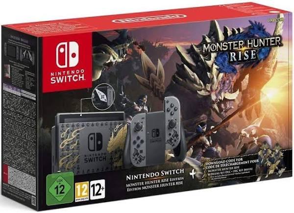 Monster Hunter Rise Edition Nintendo Switch Konsol