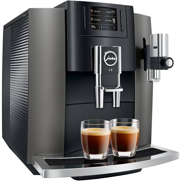 Jura E8 (2018) espressomaskin 15267 Dark Inox