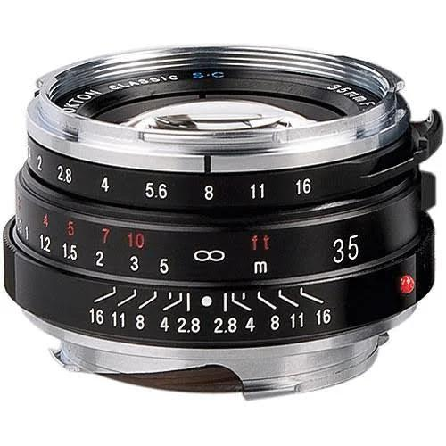 Voigtlander 35mm f/1.4 Nokton Classic Objektiv för Leica M-Mount