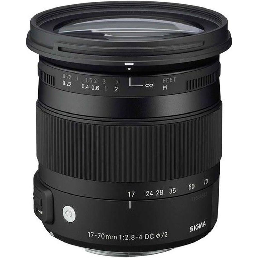 Sigma 17-70mm F2.8-4 DC Macro C OS HSM Canon