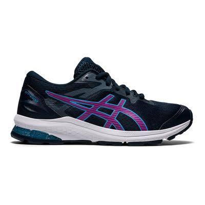 ASICS GT-1000 10 GS Running Shoes Black Blue Lilac Kids - 39