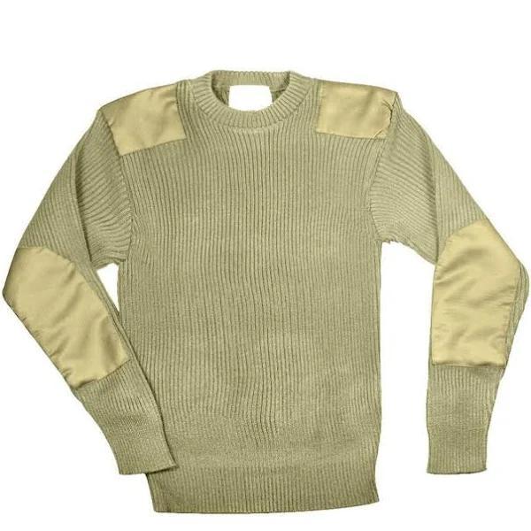 Rothco Commando Sweater - G.I. Style (Khaki, XL)