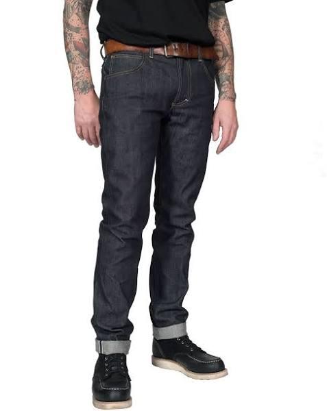 Lee - 101 Rider Raw Jeans Dry Selvage Denim - 13 3/4oz - Blue - 30/32