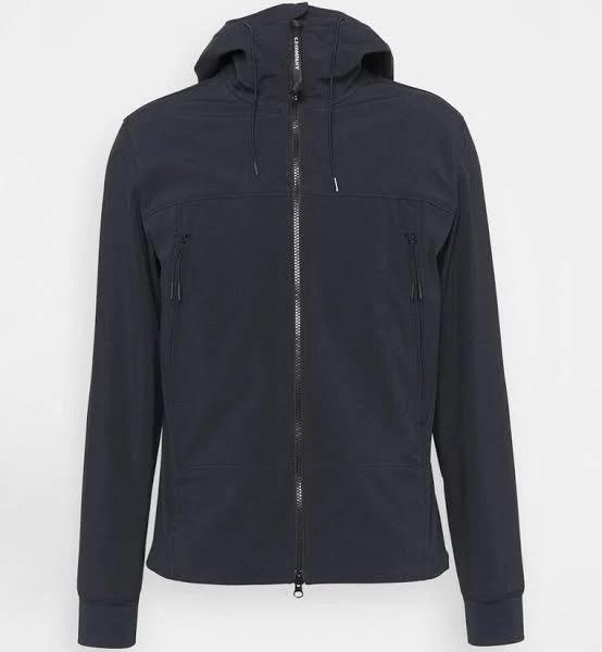C.P. Company Outerwear Short Jacket Tunn jacka total eclipse, gender.adult.male, Storlek: 54, Mörkblå
