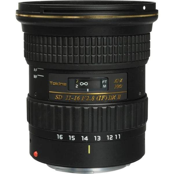 Tokina AT-X 116 Pro DX AF 11-16mm f/2.8 II Lens For Nikon Mount