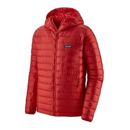 Jacket Patagonia Mens Down Sweater Hoody Fire w/Fire-XS