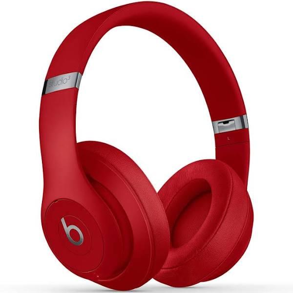 Beats Studio3 Wireless over-ear-hörlurar - röd