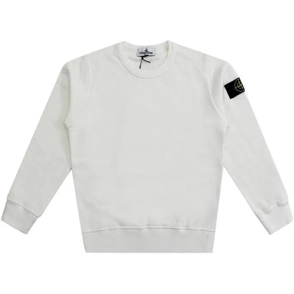 Stone Island Tröja Sweatshirts & Hoodies , Vit, Herr, barn , Storlek: 8y