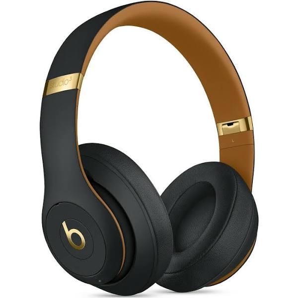 Beats Studio3 Wireless-over-ear-hörlurar – Beats Skyline Collection – midnattsvart