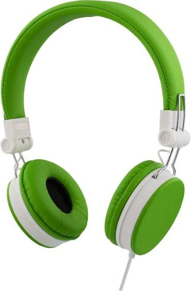 STREETZ headset för iPhone, mikrofon, 1,5m, grön