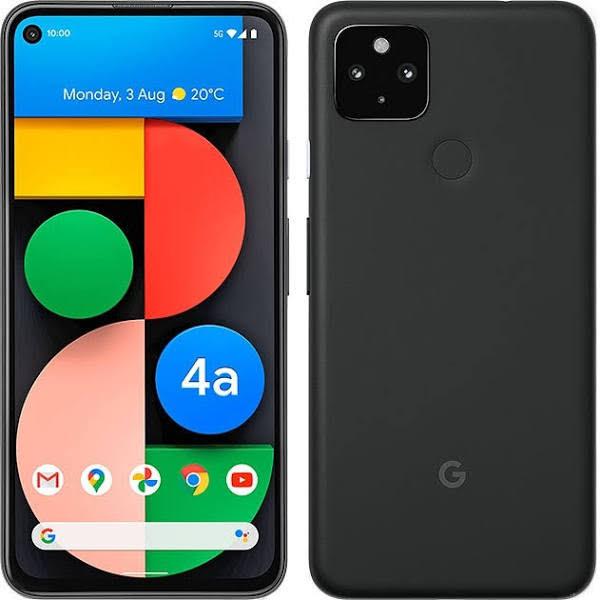 "Google Pixel 4A (Just Black) 5.81"" Oled 1080X2340/128Gb/6Gb/Android 10/Wifi,Bt,4G"