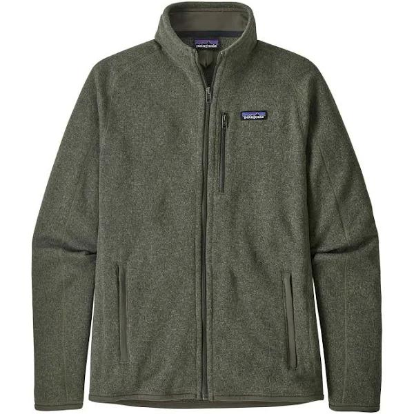 Patagonia Better Sweater Jacket Green, Mens Fleece Jacket (Size L - Color Industrial Green)