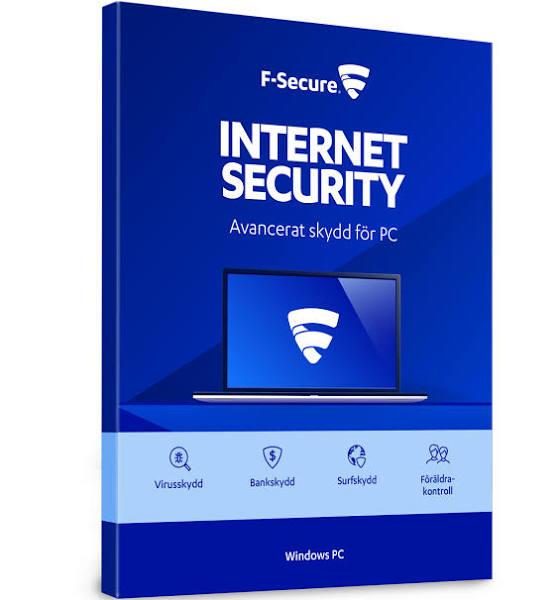 F-Secure Internet Security - 1 år, 3 datorer - Attach