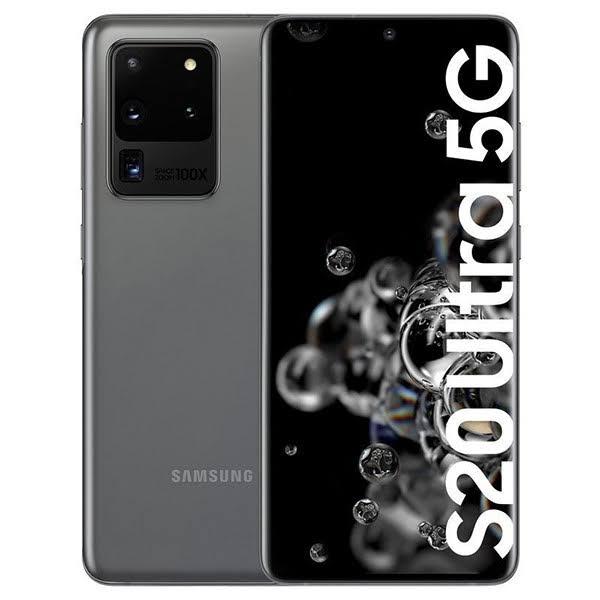 Samsung Galaxy S20 Ultra 128 GB 5G Grå