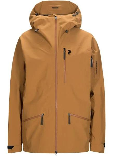 Peak Performance Radical Jacket Herr Honey Brown