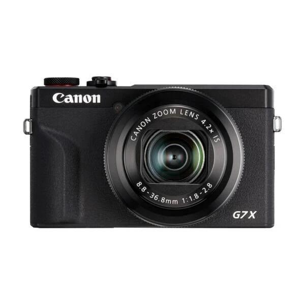 Canon PowerShot G7 X Mark III svart
