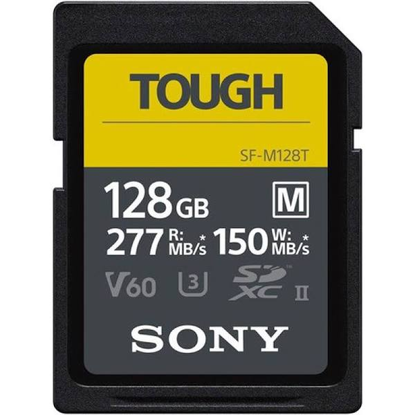 Sony SDXC M-Series Tough 128GB UHS-II U3 V60, 277MB/s