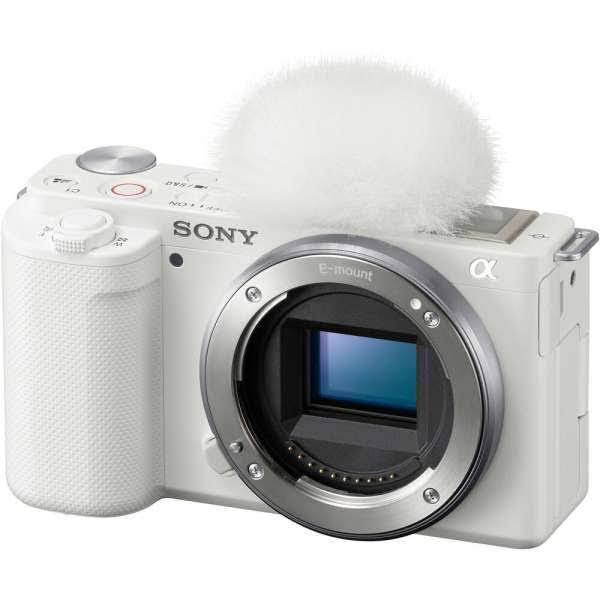 Sony ZV-E10 Digital Camera for Vlogger Body Only (White)