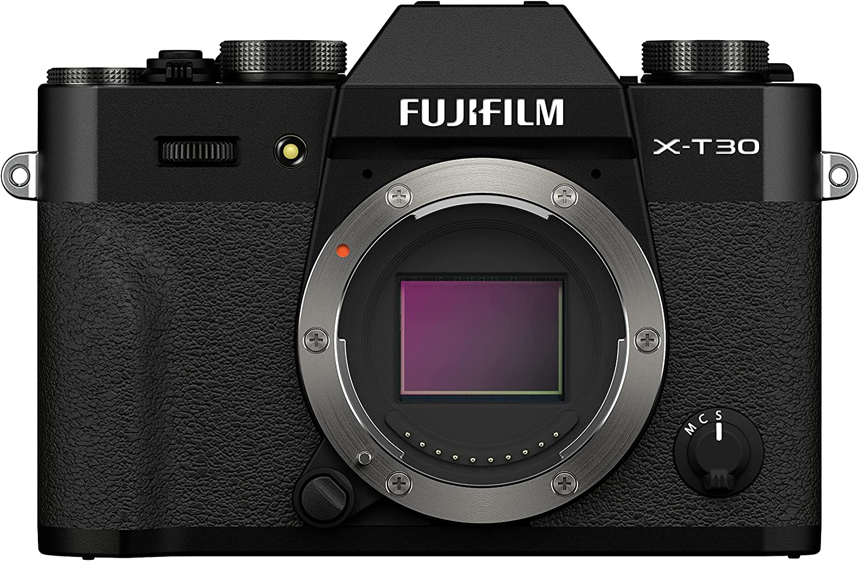 Fujifilm X-T30 II Digital Camera Body - Black