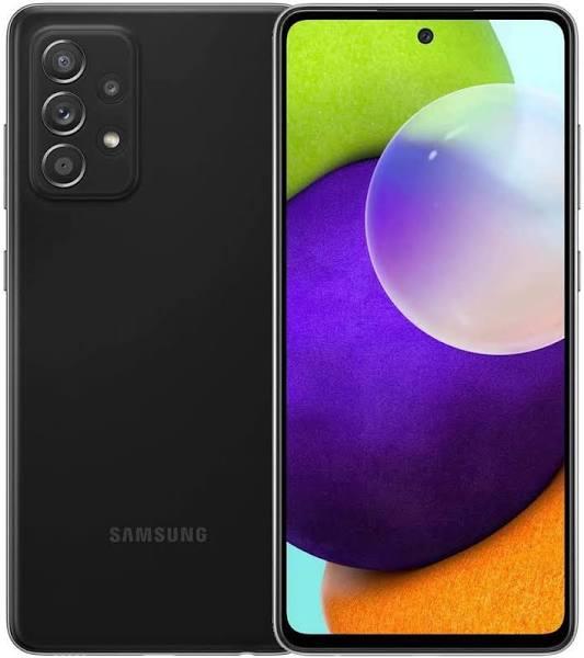 Samsung - Galaxy A52 5G 128Gb Unlocked - Black - SM-A526UZKDXAA - 887276536330