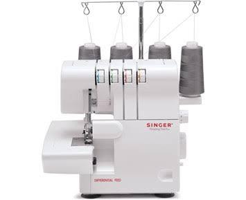 Singer 14Sh654, Vit, Overlock, 4 Steg, 4 Mm, 6,7 Mm, Elektrisk