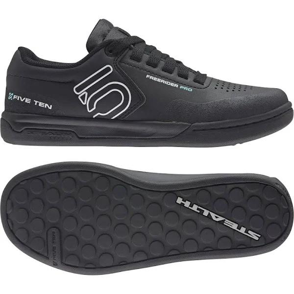adidas Five Ten Freerider Pro Black, Women Freeride (Size EU 39 1/3 - Color Core Black - Crystal White - Acid Mint)